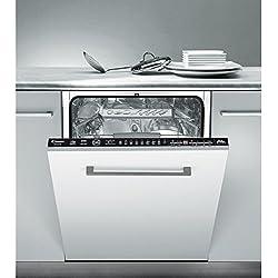 Candy CDIM 5146 Entièrement intégré 16places A++ lave-vaisselle - Lave-vaisselles (Entièrement intégré, Taille maximum (60 cm), Noir, boutons, Condensation, 16 places)