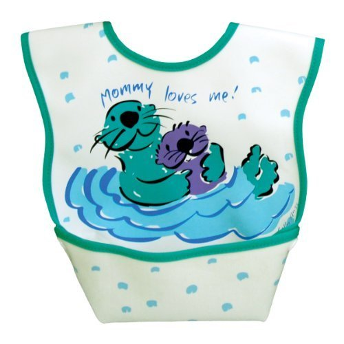 Dex Baby Dura Bib Geo Big Mouth Blue Large 6-24 Months