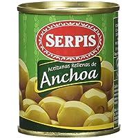 Serpis Aceituna Rellena de Anchoa - Pack de 3 x 120g