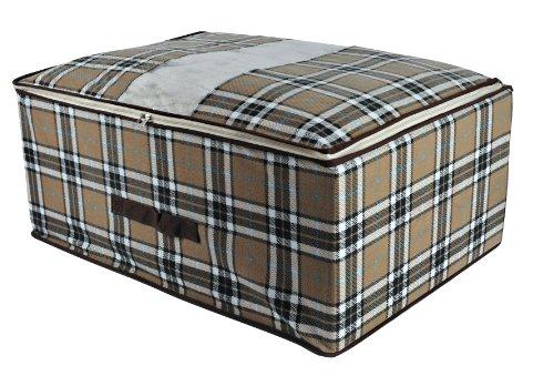 Mongardi Box für Kleidung, kariert