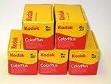 Kodak Colorplus Farbfilm (200asa, 36Aufnahmen) 5Stück