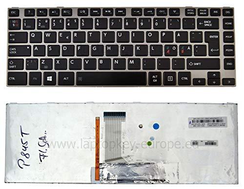 OEM schwarz Hintergrundbeleuchtung QWERTY Nordic Tastatur Toshiba Satellite C800 C800D C805-C840 C840D C845 C845D L800 L800D L805 L805D L830 L830D L840 L840D s4310 + Werkzeug Set Service -