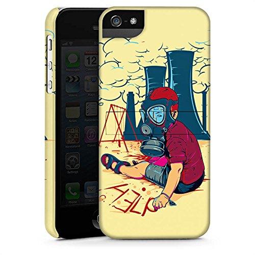Apple iPhone X Silikon Hülle Case Schutzhülle Atomkraft Graffiti Umwelt Premium Case StandUp