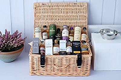 Scottish Whisky Miniatures Big Brother Hamper