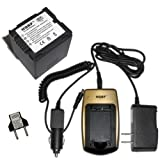 HQRP Battery and Battery Charger for Hit...