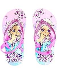 99a38b21e Chanclas Niña Frozen Elsa Disney con Brillantina y Banda Elástica