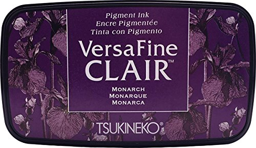 Tsukineko Monarch Versafine Clair Tinte Pad, Kunststoff, Lila, 5, 6x 9, 7X 2, 3cm -
