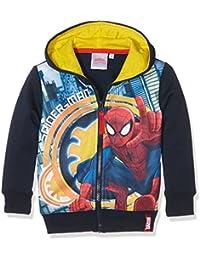 Marvel Spiderman, Sweat-Shirt à Capuche Sport Garçon