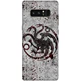 "NH10 DESIGNS 3D PRINTING DESIGNER HARD SHELL POLYCARBONATE ""GAME OF THRONES"" PRINTED SHOCK PROOF WATER RESISTANT SLIM BACK COVER MATT FINISH FOR SAMSUNG_NOTE_8/SAMSUNG NOTE8 /SAMSUNGNOTE8"