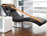 Designer-Liege Chaise-Longue Siara - 8