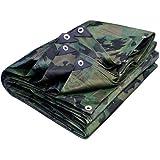 Provence Outillage 3822 - Lona protectora (140 g/m, 3,6 x 5 m), diseño de camuflaje