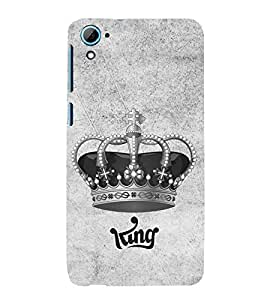 PrintVisa Designer Back Case Cover for HTC Desire 826 :: HTC Desire 826 Dual Sim (Animated Crown Of A King)