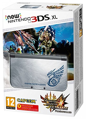 NEW 3DS XL MONSTER HUNTER 4 ES VIDEO CONSOLA PORTATIL PARA JUEGOS ALTA CALIDAD RESISTENTE DURADERA VIDEO CONSOLA