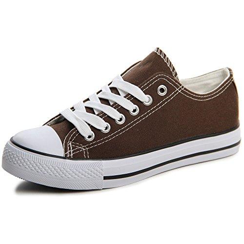 topschuhe24, Sneaker donna Marrone (marrone)