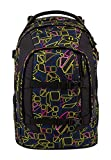 satch pack 2er Set (Disco Frisco) Schulrucksack+Heftebox Purple