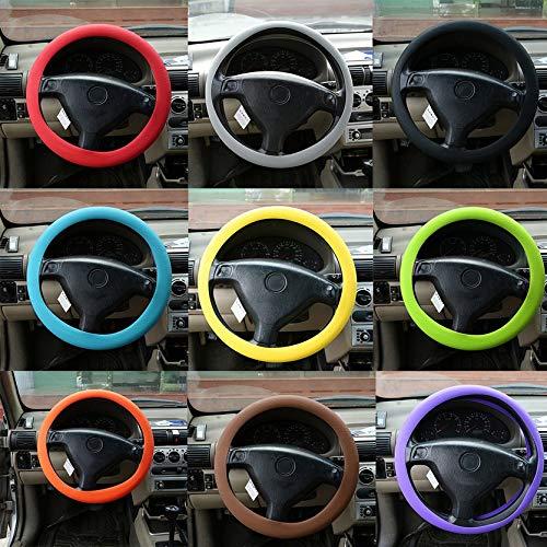 Qiilu Auto Caches de volant Shifter de changement de vitesse de volant de voiture pour A5 S3 S5 S6 SQ5 RS3 RS6 RS7(Noir)