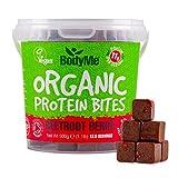 BodyMe Bio Vegane Protein Snacks Bisse | Roh Rote Beete Beere | 500g (12.5 x 40g Portionen) | Mit 3 Pflanze Proteine