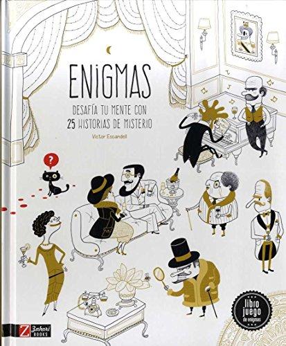 Enigmas . Desafia tu mente con 25 Historias de Misterio
