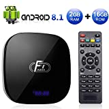 Sidiwen Android 8.1 TV Box F1 2GB RAM 16GB ROM Amlogic S905W Quad-Core Cortex-A53 CPU 2.4G WIFI...