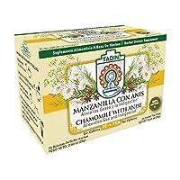Tadin Tea, Manzanilla & Anis Chamomile with Anisse Tea, 24-Count Tea Bags