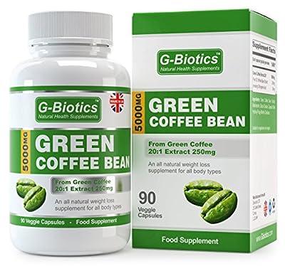 G-Biotics Green Coffee Bean Extract Capsules - ON SALE NOW! by Zencoinc LTD