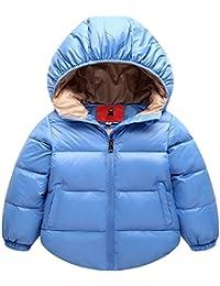 Niños Abrigo de Plumas Chaquetas Snow Parka para Bebés Chico Niñas