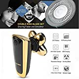 Bald Shaver and Bear Trimmer Electric Rotary Shaver for Men Women Cordless Razor for Face Wet & Dry IPX7 Waterproof 5 Head Shaver for Travel Home Use (Bald Head Shaver)