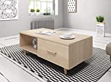 furniture24-eu Couchtisch Kaffetisch Sweden (Sonoma Eiche)