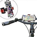 WANPOOL Universal Handy Fahrradhalterung für 4,5 bis 5,8 Zoll Smartphones - iPhone X/iPhone 8/8 Plus/Samsung Galaxy Note 5 / S6 Edge / S7 – Huawei P10 / P10 Plus und Andere