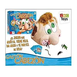 IMC Toys Juego Gaston Cabezon COGE UNA Carta Y Busca EN SU Cabeza