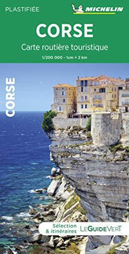 Carte routière touristique Corse par Michelin