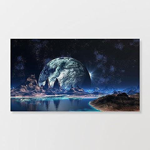 Alien Planet Mur Graffiti Impression sur toile Poster 48,3x 91,4cm
