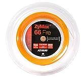 Ashaway Zymax 66Fire de badminton Cordes Bobine de 200m (201,2m) Orange