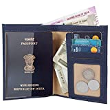 #8: MarkQues Victor Blue Travel Passport Holder Wallet (VIC-4405)