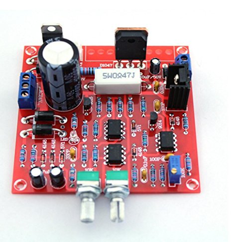 HaoYiShang 0-30V 2mA - 3A regelbar DC geregelt Netzteil DIY-Kit Kurzschluss Strombegrenzung Schutz 30 Volt 3 Ampere