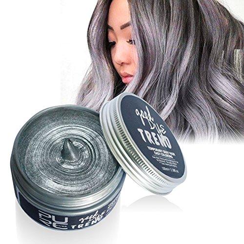Weicici Unisex Waschbar Temporäre Haarfärbemittel Wachs Haar Modellierung Farbe Schlamm DIY Haar Creme Für Party 100 ML (# (Haar Spray Temporäre Weiße)