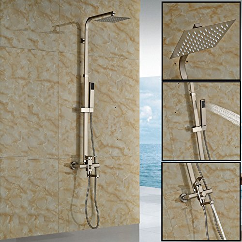 Luxurious shower Quadratische Ausführung 8