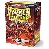 Dragon Shield- Bustine per Carte, Colore Red, 1