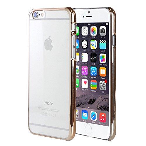Hamee Type d'original coloré Bumper Case pour iPhone 6 Plus (Silver) Gold