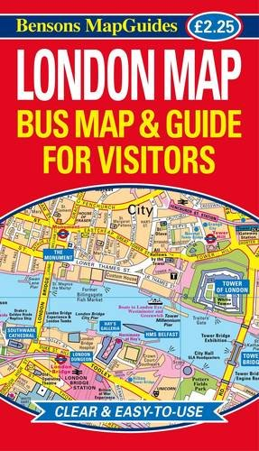 London Map: Bus Map and Guide for Visitors por Bensons MapGuides