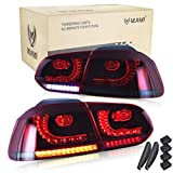 VLAND LHD - Fanale posteriore a LED per Golf 6 MK6 GTI GTD R TSI 2008-2013(Driver a sinistra)