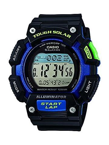 Casio Herren-Armbanduhr Collection Digital Quarz Resin STL-S110H-1BEF