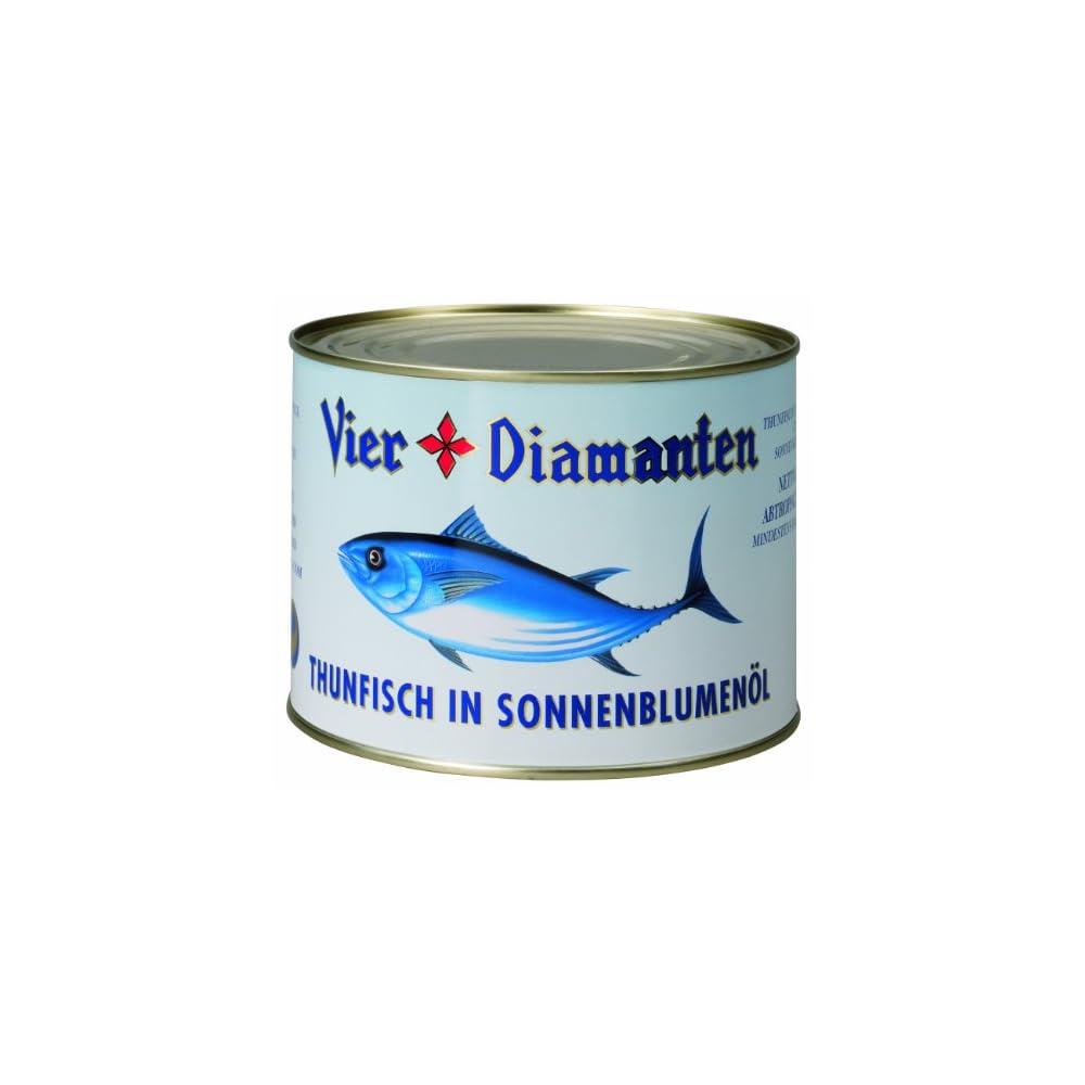 Vier Diamanten Thunfischfilets In Sonnenblumenl Fqsp 1er Pack 1 X 188 Kg