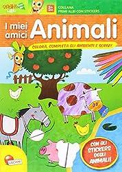 Animali e ambienti. Con adesivi