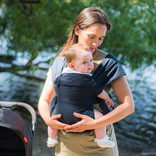 Izmi Baby Carrier (3.2kg-15kg), New Born Carrier, Multiple Carrying Positions, Midnight Blue