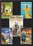 Guru Nanak - The First Sikh Guru, Set of Five Books Vol1, 2, 3, 4, 5, (Sikh Comics)