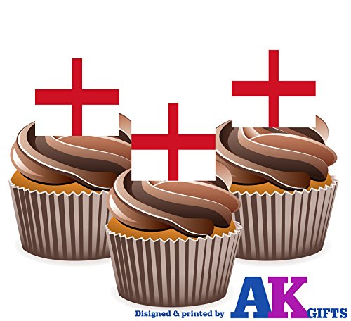 diseno-de-la-bandera-de-la-cruz-de-san-jorge-de-inglaterra-decoraciones-de-la-torta-de-la-taza-de-la