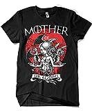 1500-Camiseta Game of Thrones - Mother of Dragons (Negra, M)