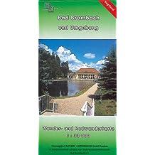 Bad Brambach und Umgebung: Wander- und Radwanderkarte. 1:33000