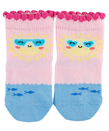 (FALKE Unisex Baby Socken Happy Sunshine, Mehrfarbig (Rose 8793), 80-92)